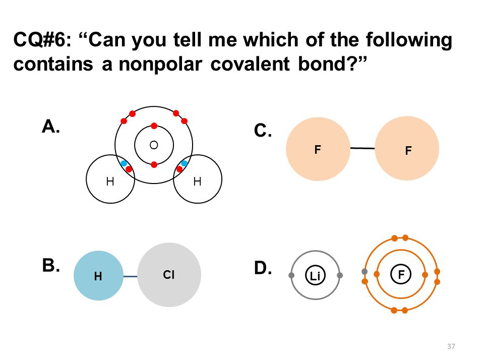 how to tell which bond is more polar