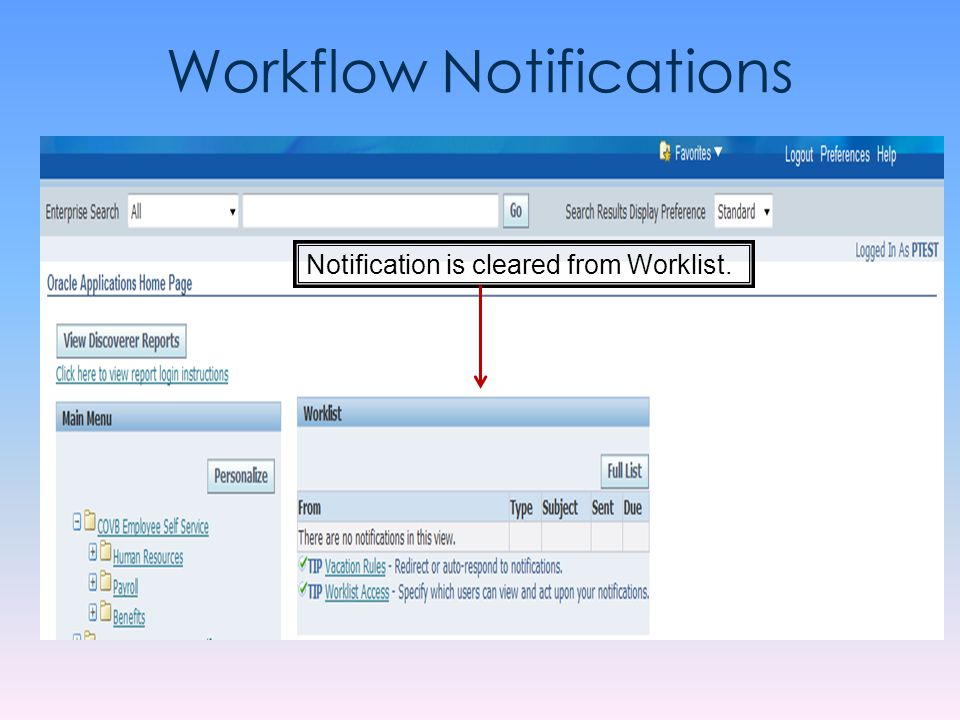 Workflow Notifications