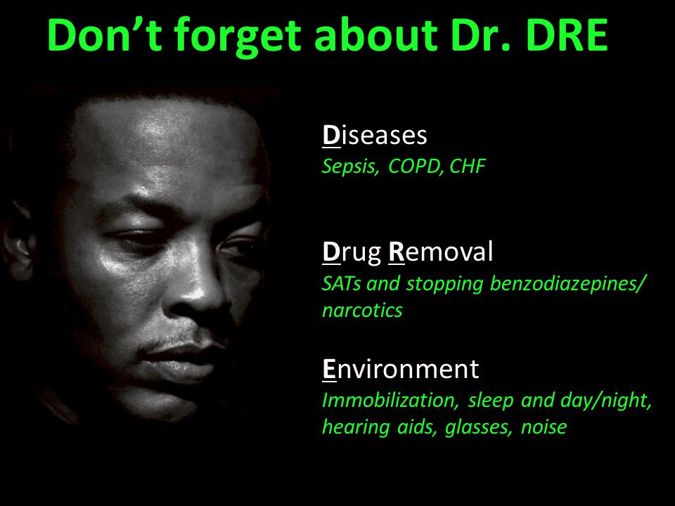 Don't forget about Dr. DRE