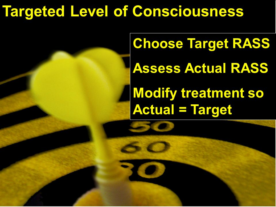 Targeted Level of Consciousness