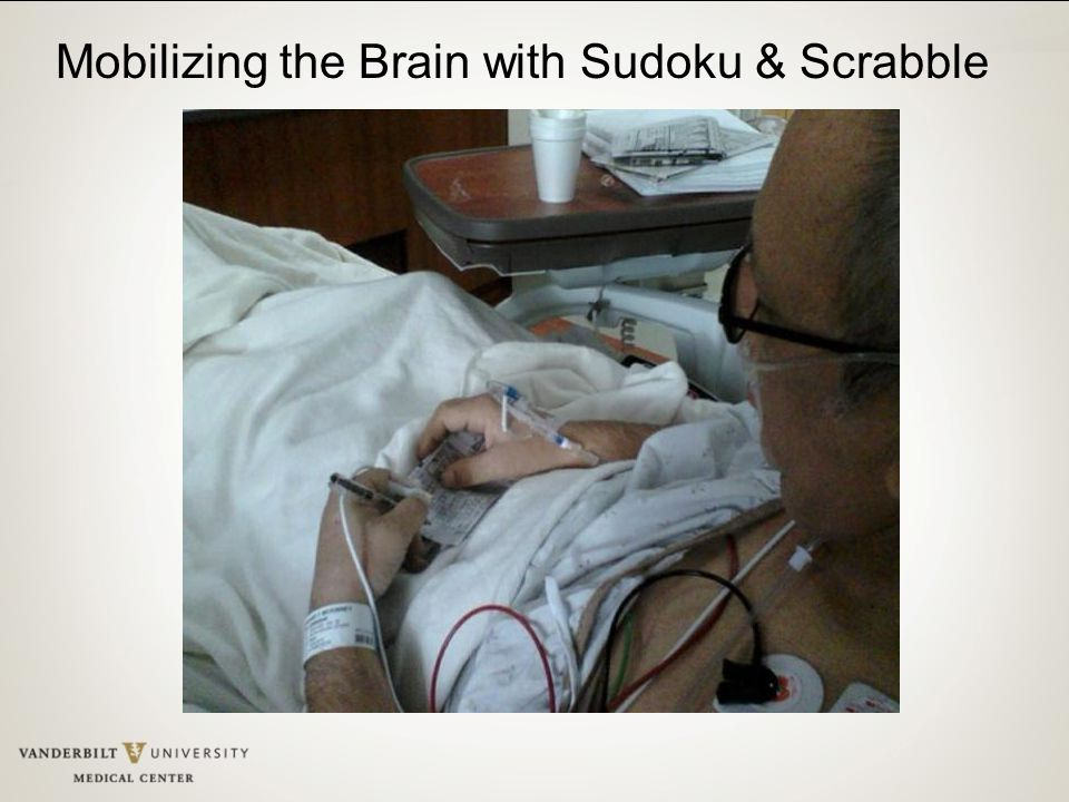 Mobilizing the Brain with Sudoku & Scrabble