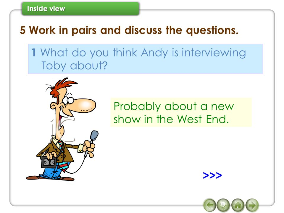 5 Work in pairs and discuss the questions.