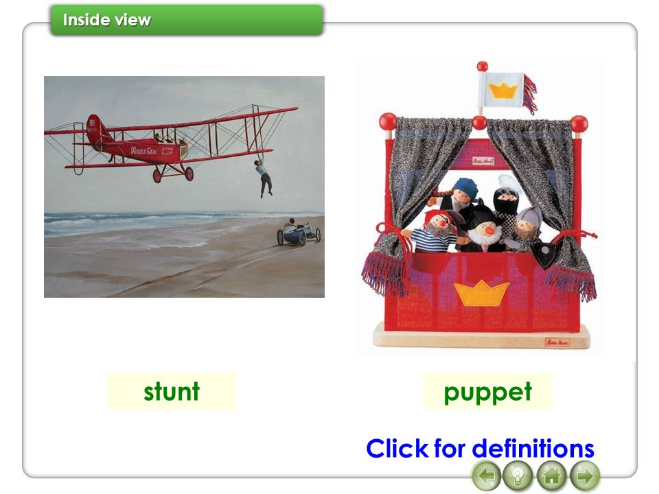 stunt puppet Click for definitions