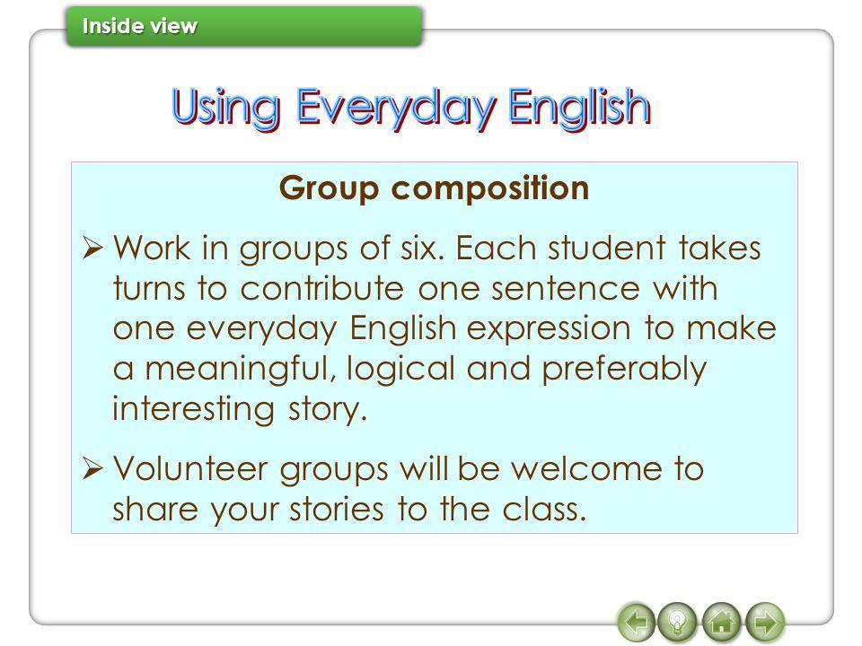 Using Everyday English