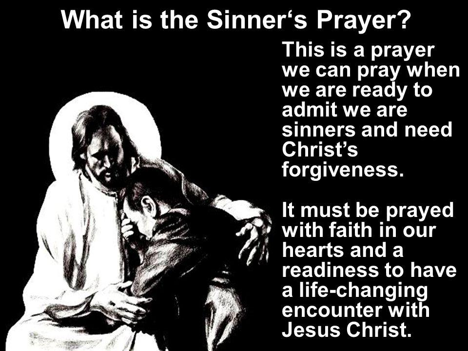 What is the Sinner's Prayer