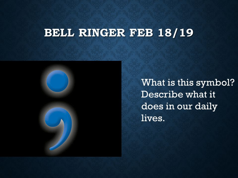 bell Ringer Feb 18/19 What is this symbol