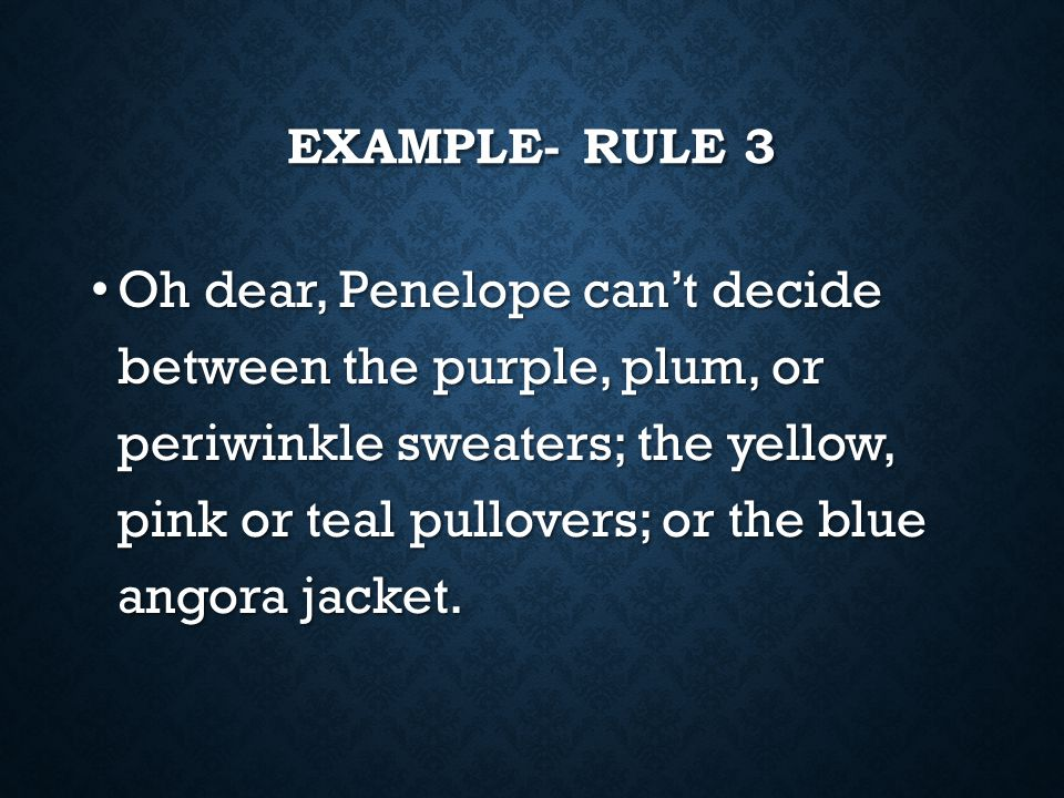 Example- Rule 3