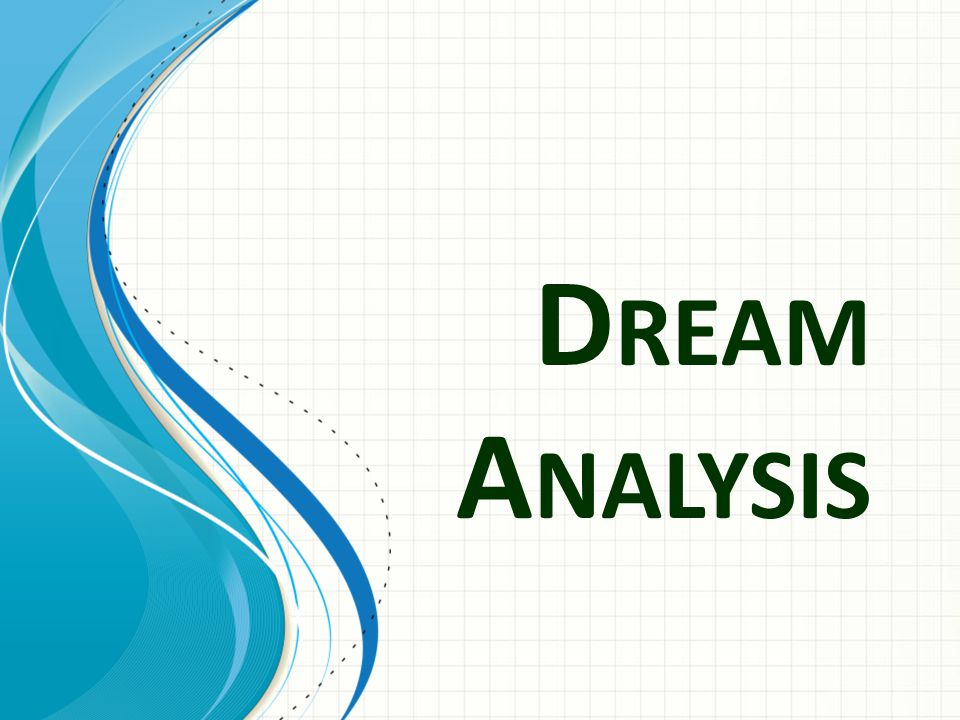 Dream Analysis This template can be used as a starter file for presenting training materials in a group setting.