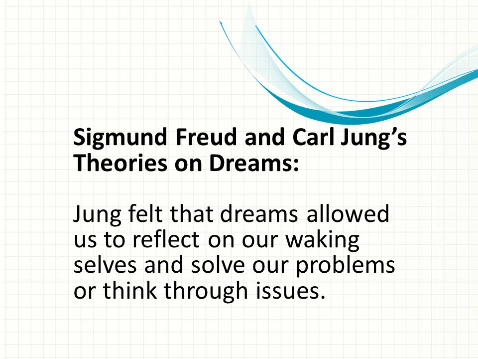Sigmund Freud and Carl Jung's Theories on Dreams: