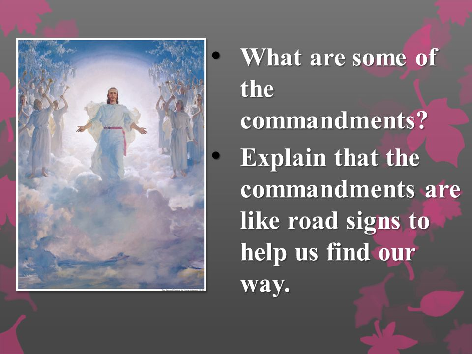 What are some of the commandments