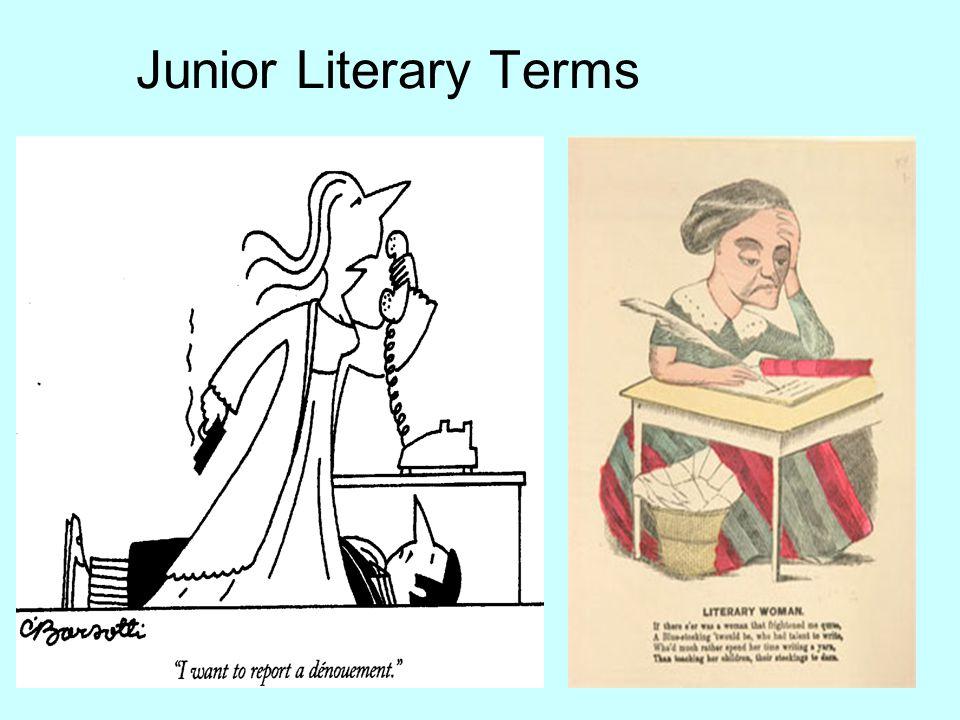 Junior Literary Terms
