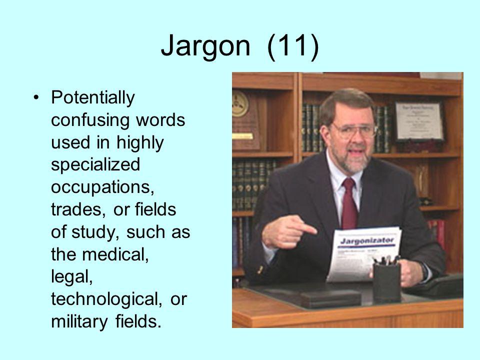 Jargon (11)