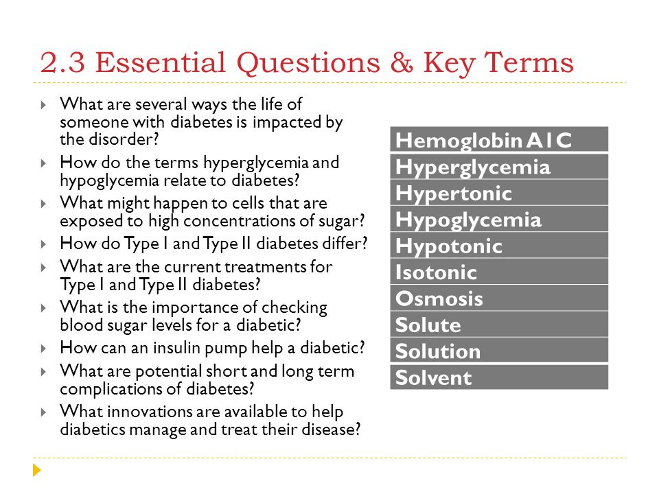 2.3 Essential Questions & Key Terms