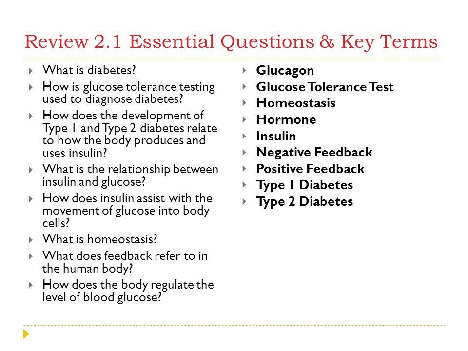 Review 2.1 Essential Questions & Key Terms