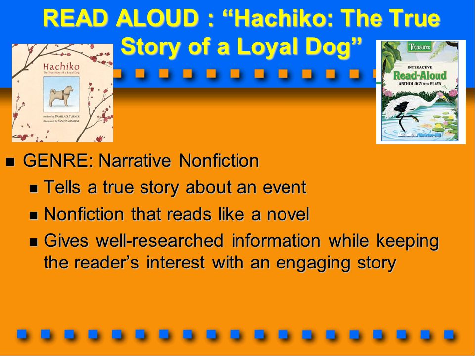 READ ALOUD : Hachiko: The True Story of a Loyal Dog
