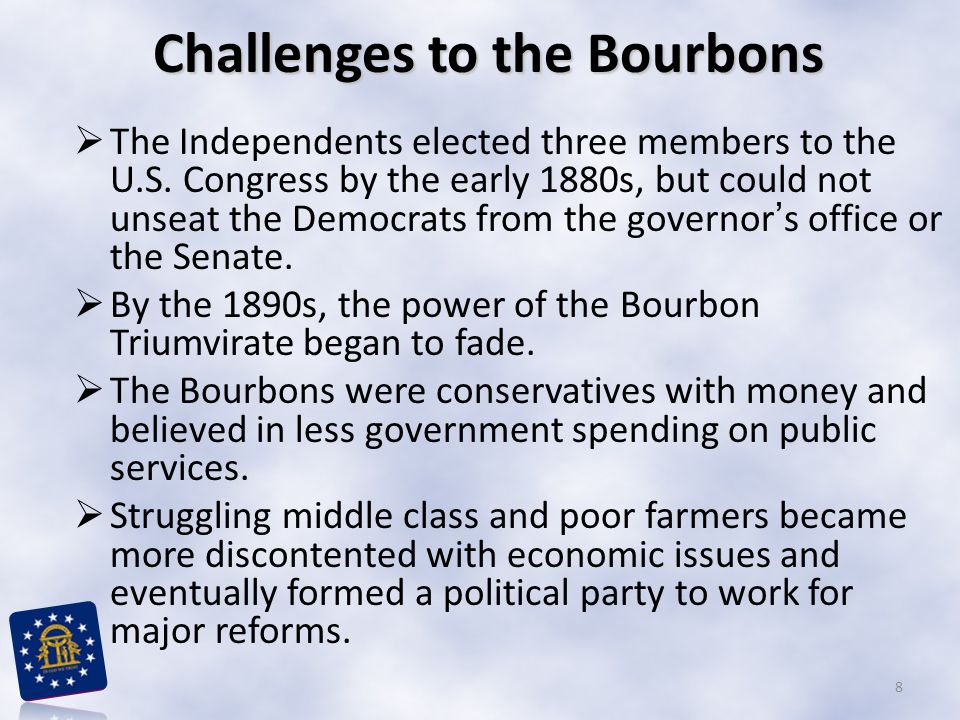 Challenges to the Bourbons