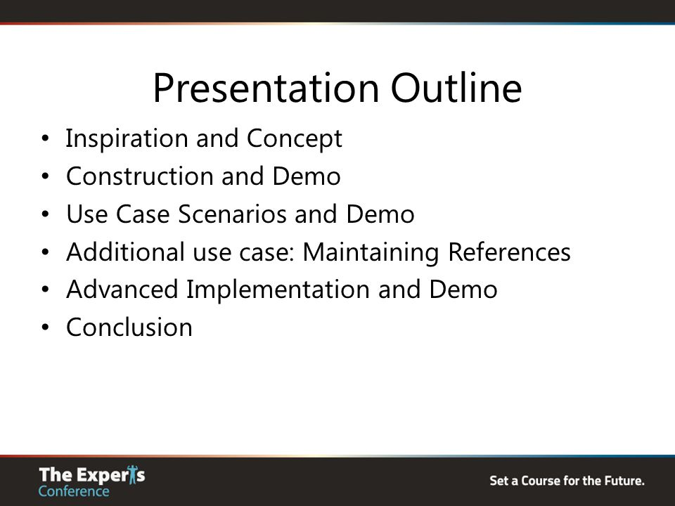 Presentation Outline Inspiration and Concept Construction and Demo