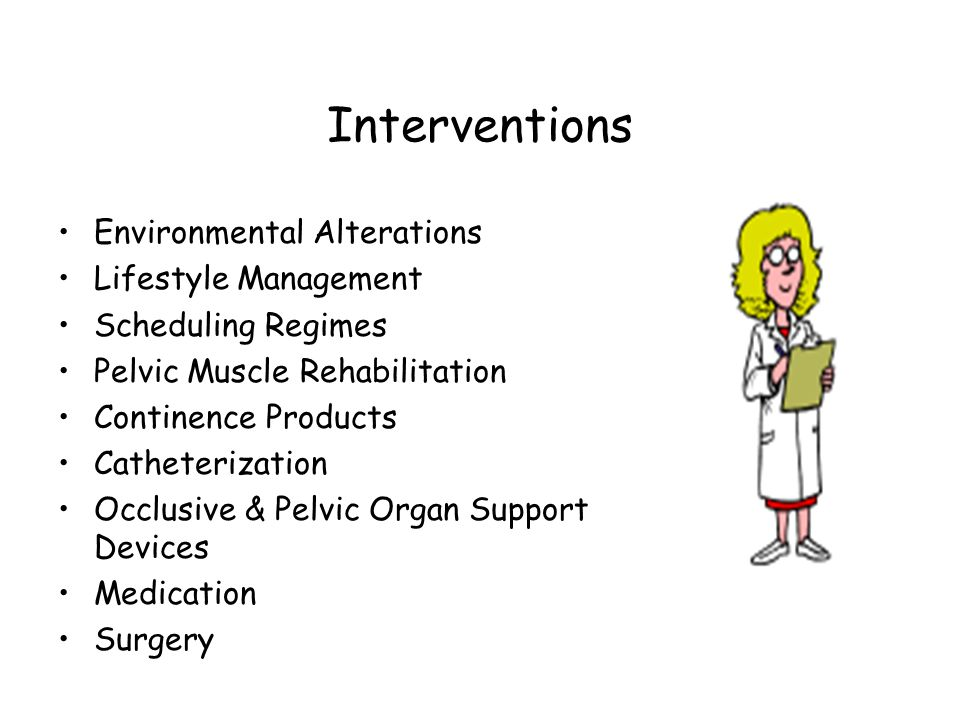 Interventions Environmental Alterations Lifestyle Management