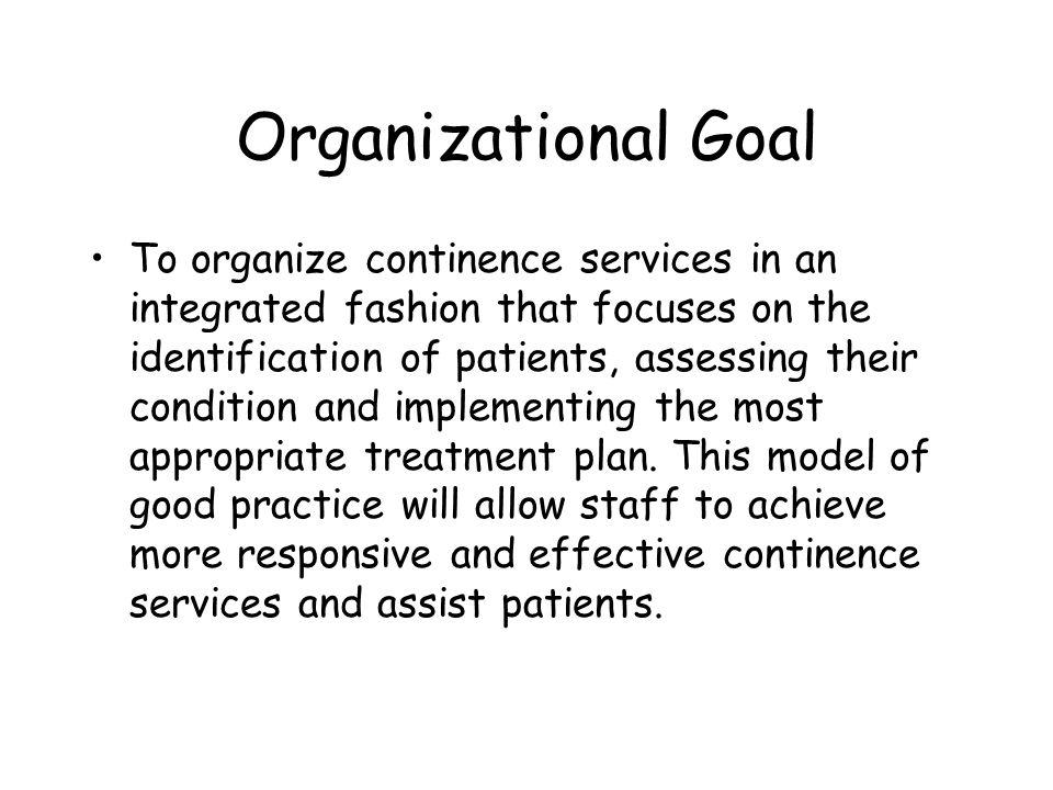 Organizational Goal