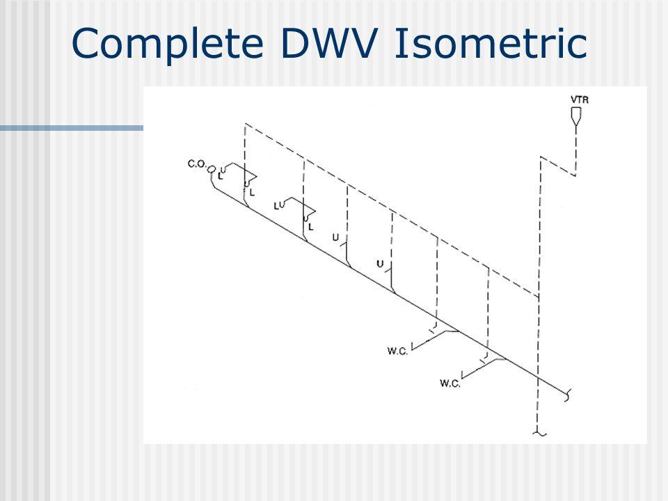 Complete DWV Isometric