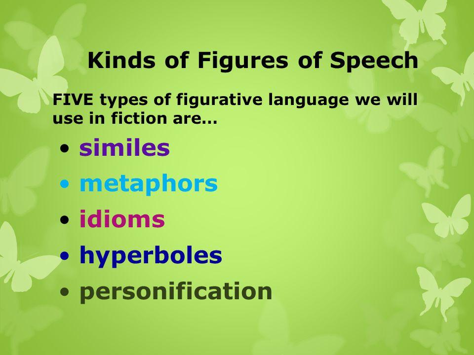Kinds of Figures of Speech