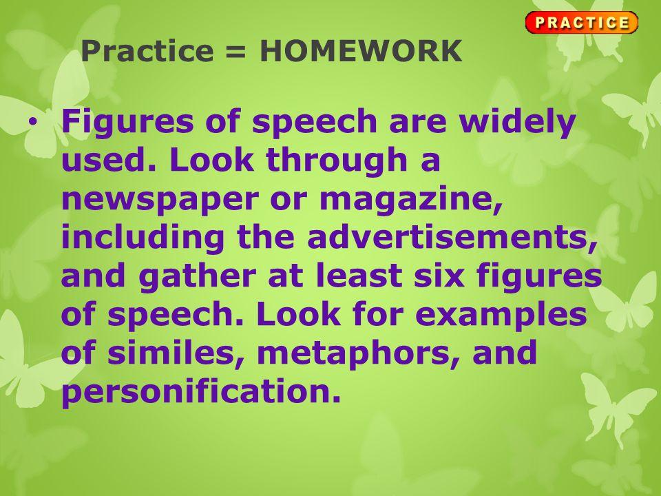 Practice = HOMEWORK