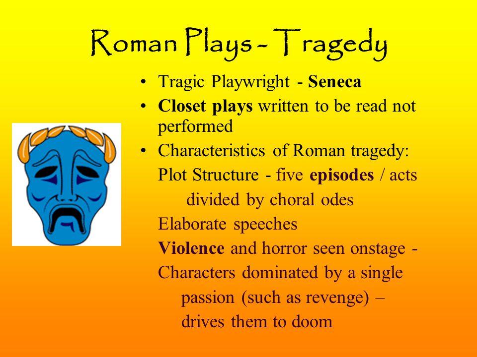 Roman Plays - Tragedy Tragic Playwright - Seneca