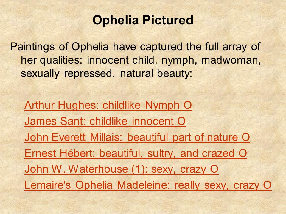 Ophelia Pictured