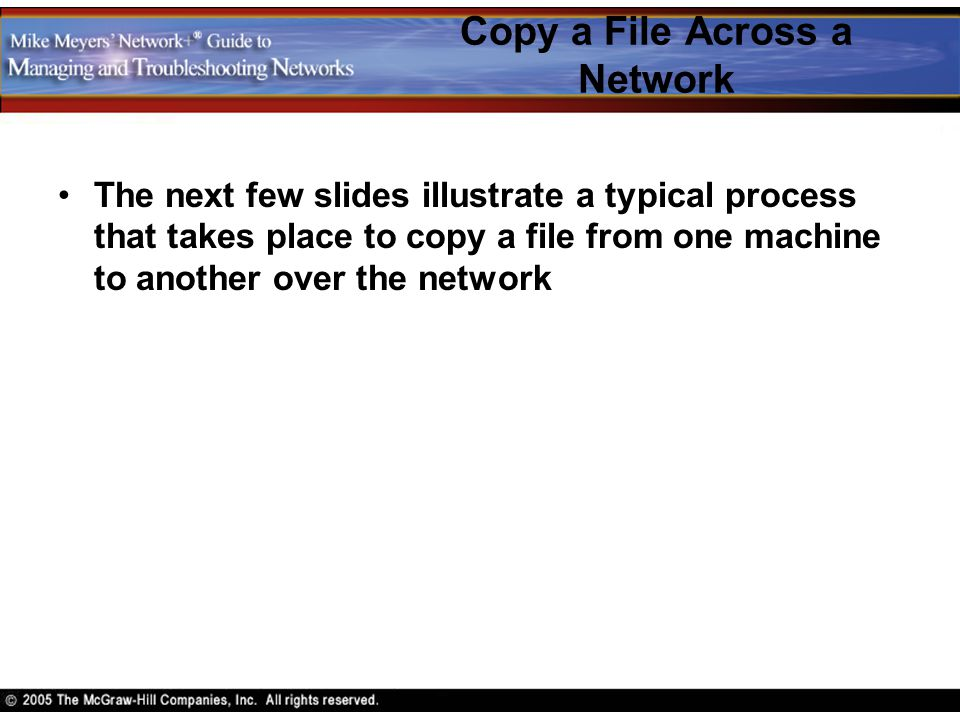 Copy a File Across a Network