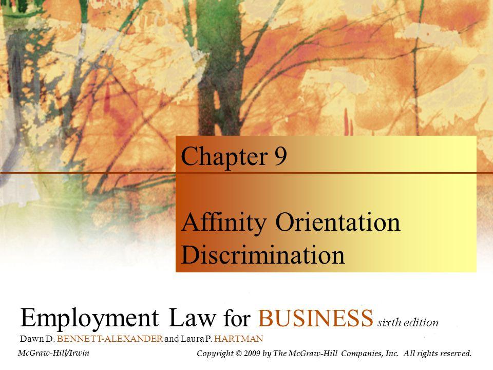 Affinity Orientation Discrimination
