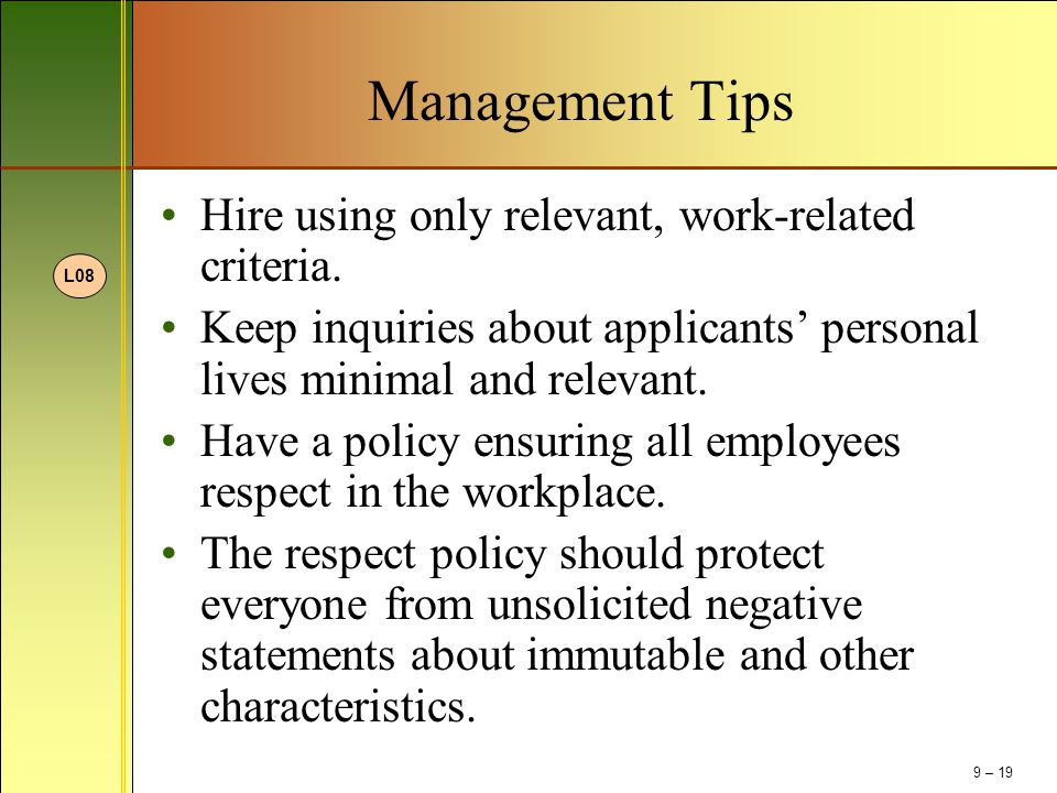 management essays addressing workplace inequality Conflict management in the workplace is an issue that every leader, manager, or employee has to deal with at one time or another the basics of conflict management include improving communication, teamwork, and a systematic approach to solving the disagreement.