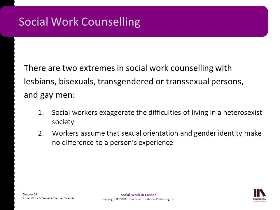 Social Work Counselling