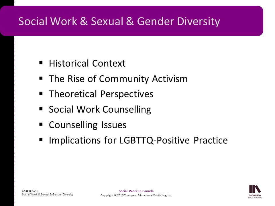 Social Work & Sexual & Gender Diversity