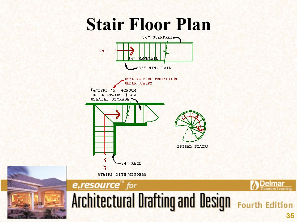 Stair Floor Plan