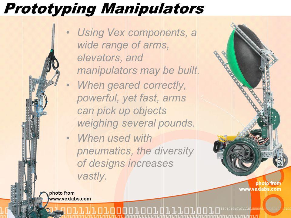 Prototyping Manipulators