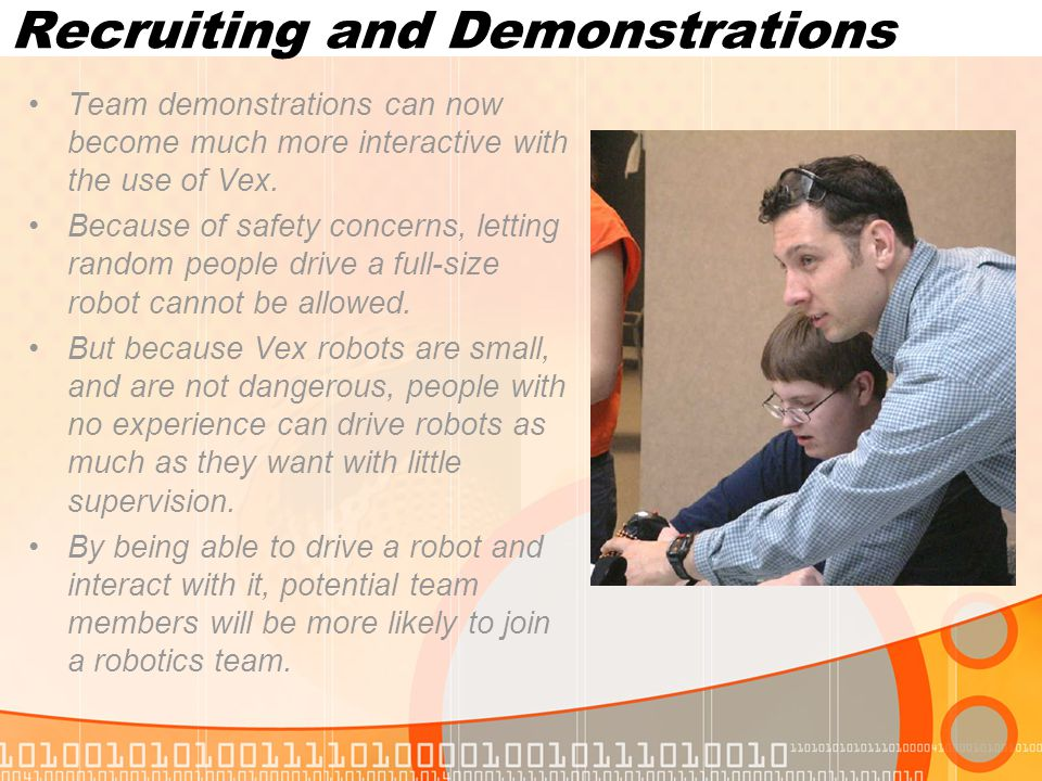 Recruiting and Demonstrations