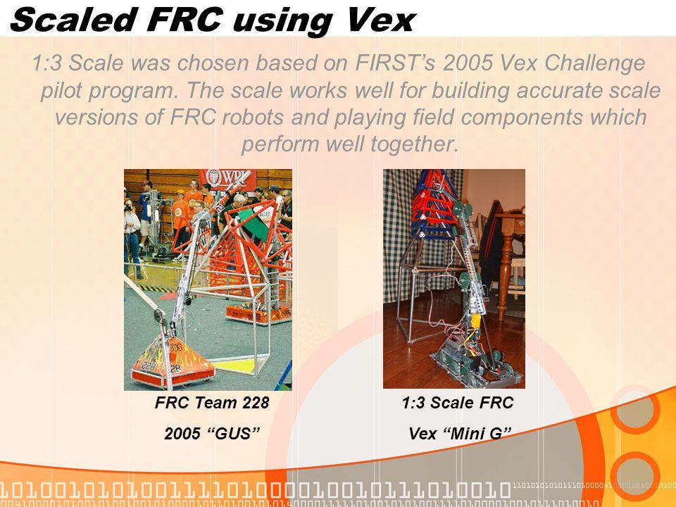Scaled FRC using Vex