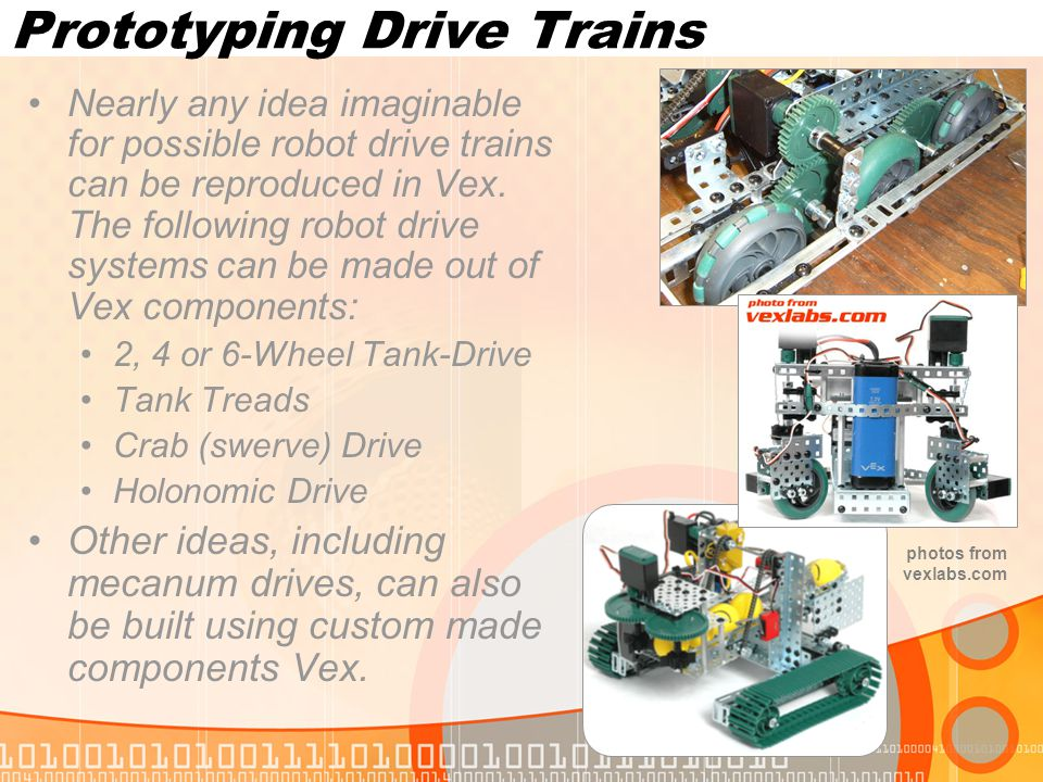 Prototyping Drive Trains