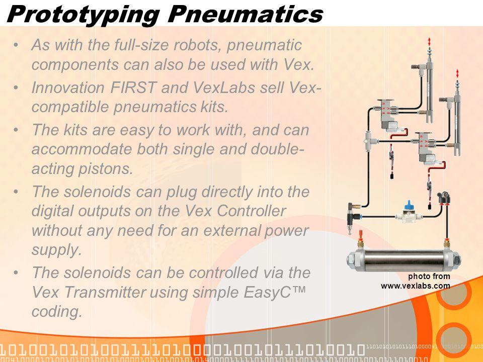 Prototyping Pneumatics