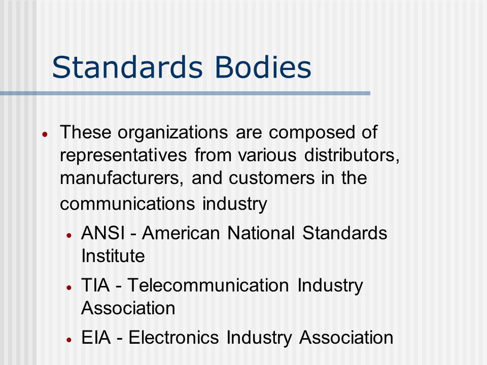 Standards Bodies