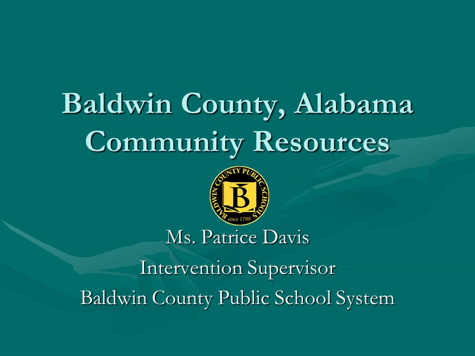 Baldwin County, Alabama Community Resources
