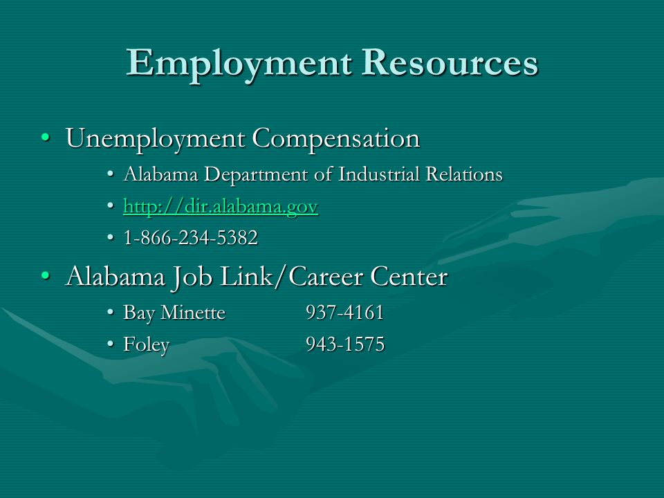 Employment Resources Unemployment Compensation
