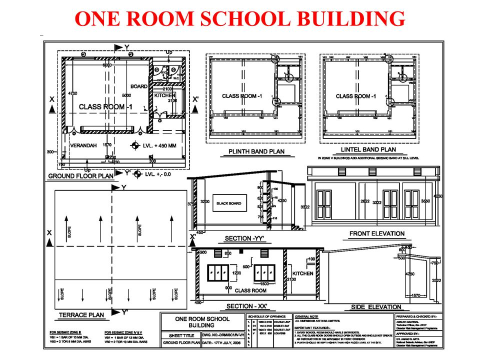 ONE ROOM SCHOOL BUILDING