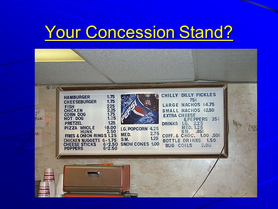 Your Concession Stand