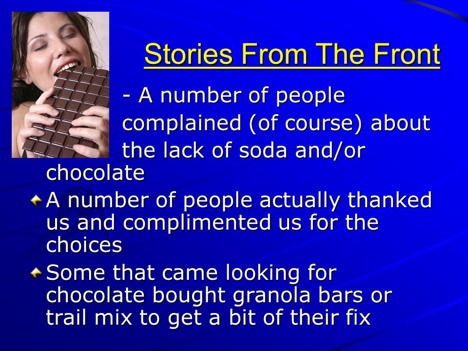 Stories From The Front - A number of people