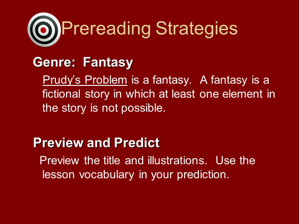 Prereading Strategies