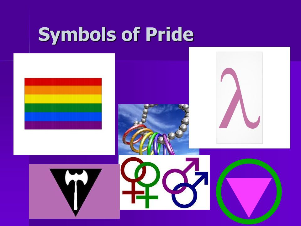 Symbols of Pride