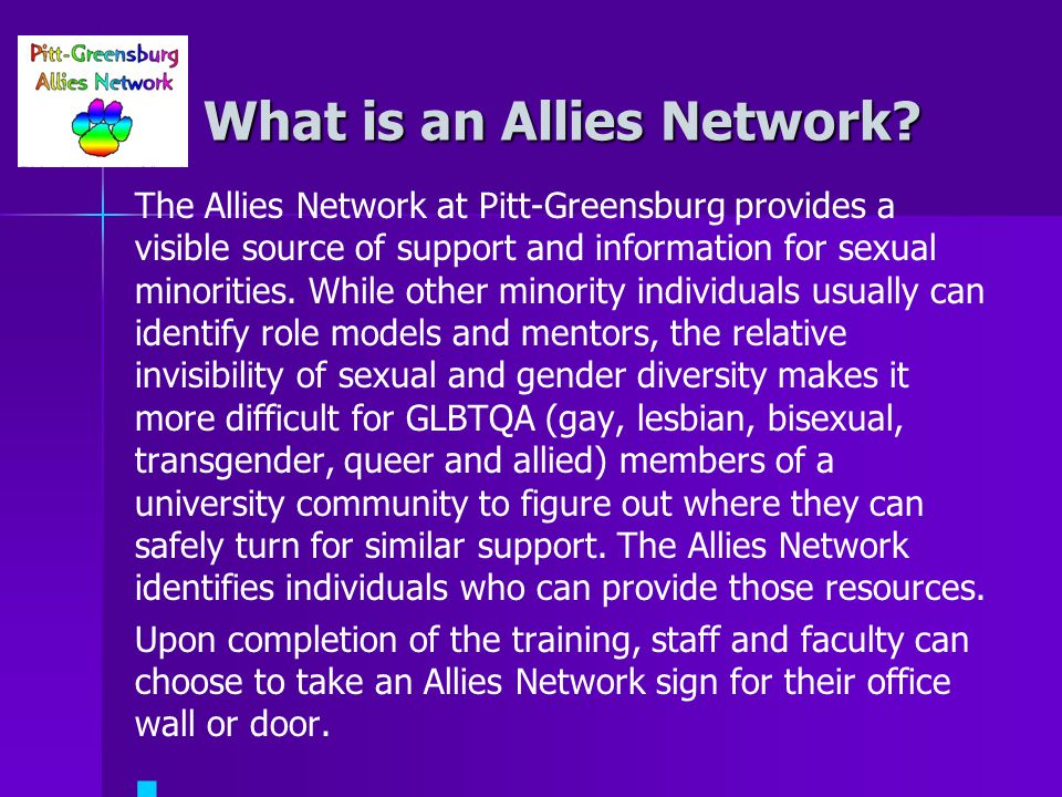 What is an Allies Network