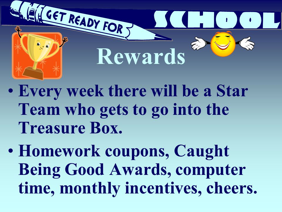 Rewards Every week there will be a Star Team who gets to go into the Treasure Box.