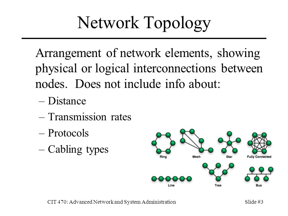 CIT 470: Advanced Network and System Administration